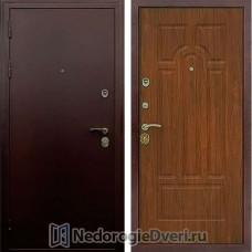 Входная дверь Престиж  PRO Орех темный