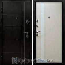 Входная дверь SD Tehno 05 Лиственница Белая