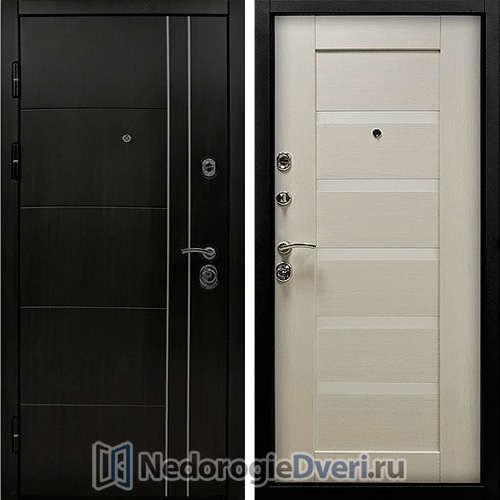Входная дверь SD Tehno М 01 Венге Светлый