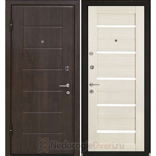 Входная металлическая дверь Profil Doors M7 Эш Вайт Мелинга