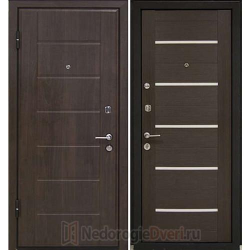 Входная металлическая дверь Profil Doors M7 Венге Мелинга