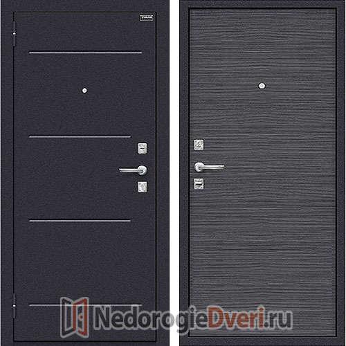 Дверь входная металлическая Оптим Кобра Black Wood