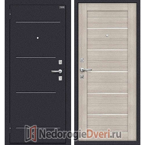 Дверь входная металлическая Оптим Техно Cappuccino  Veralinga