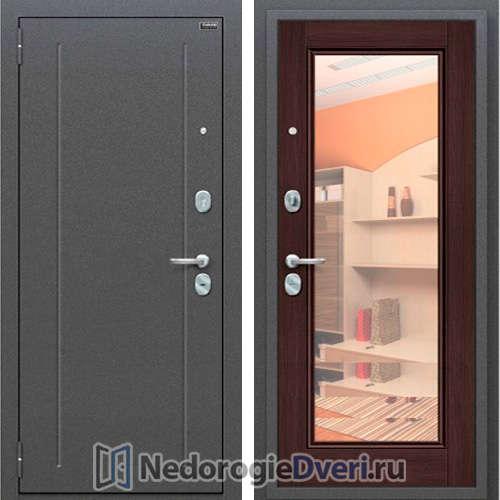 Входная металлическая дверь Промет Оптим Флэш Wenge Veralinga