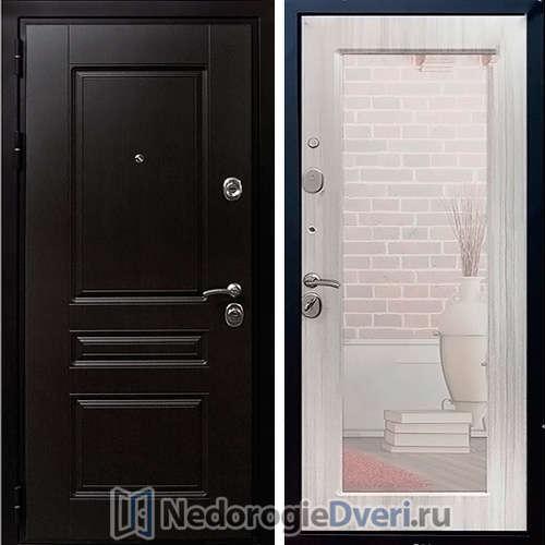 Входная дверь Rex Premium H Зеркало Сандал