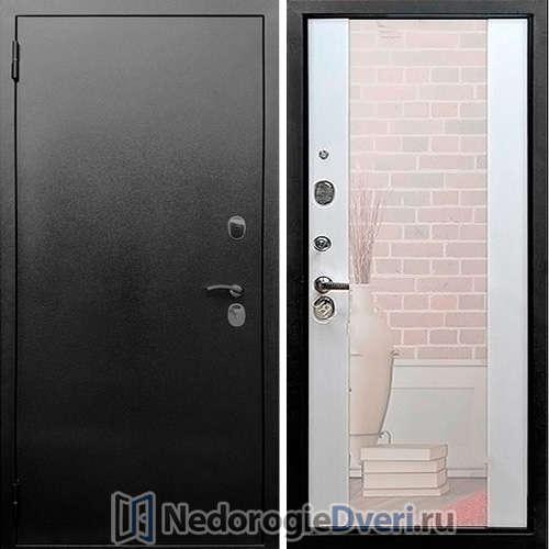 Входная дверь Rex 5A СБ 16 Зеркало Лиственница беж