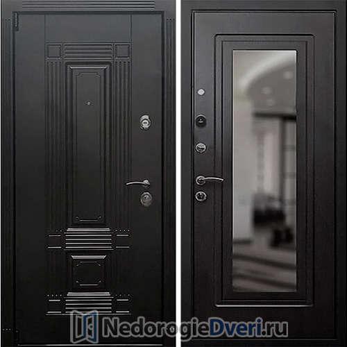 Входная дверь Rex 9 Зеркало Венге
