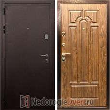 Входная дверь Rex 5A Медь Берёза Морёная