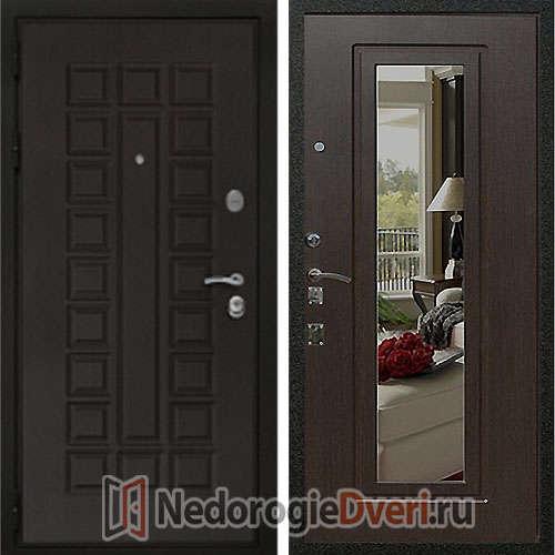 Входная дверь Rex Триумф 3К Венге с Зеркалом