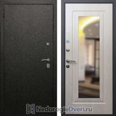 Входная дверь Rex Верона 6 Белёный Дуб с зеркалом