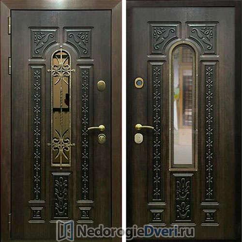 Входная дверь Rex 8 Лацио с ковкой