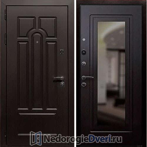 Входная дверь Rex Эврика Венге Зеркало
