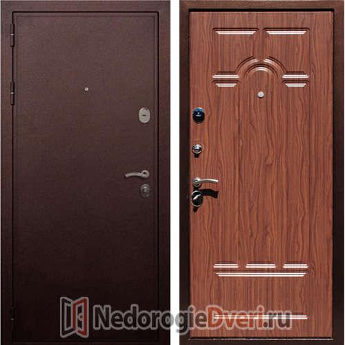 Входная дверь Rex 5A Медь Орех
