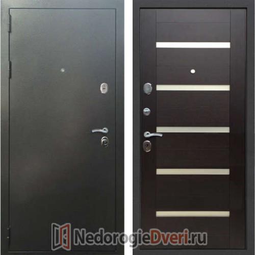 Входная дверь Rex 5A Серебро Венге