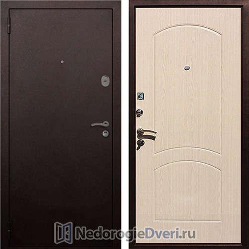 Входная дверь Rex 1А Белёный Дуб