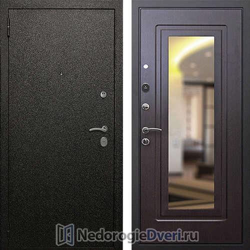 Входная дверь Rex Верона 6 Венге с зеркалом