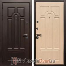 Входная дверь Rex Эврика Белёный дуб