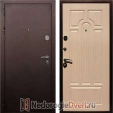 Входная дверь Rex 5A Медь Белёный Дуб