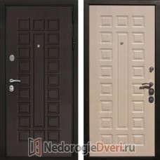 Входная дверь Rex Триумф 3К Белёный дуб