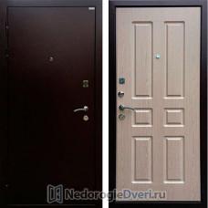 Входная металлическая дверь Ратибор Комфорт Бел Дуб