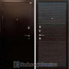 Входная металлическая дверь Ратибор Горизонт Эко Венге