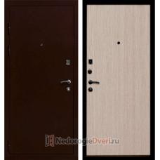 Входная металлическая дверь Ратибор Практик Беленый Дуб
