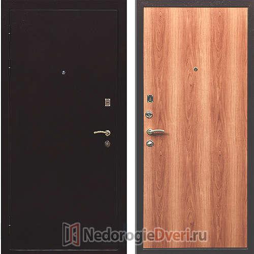 Входная дверь Ратибор Практик Миланский Орех