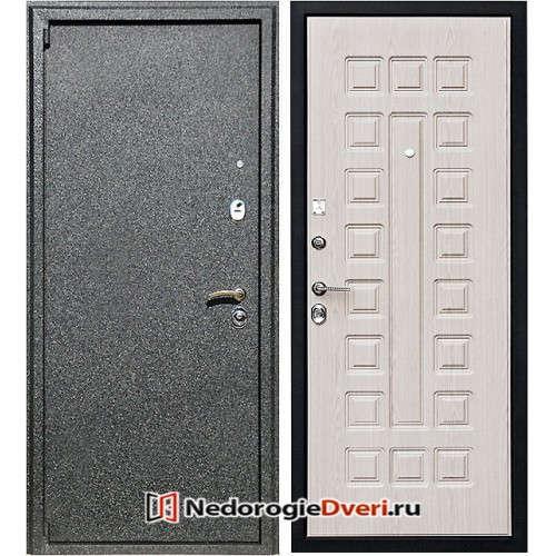 Входная металлическая дверь Ратибор Зодиак Бел Дуб