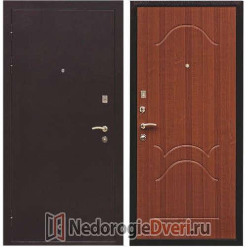 Входная металлическая дверь Ратибор Патриот Ольха Темная (Россия)