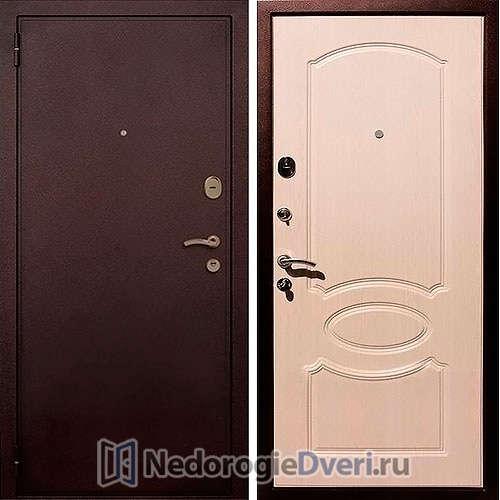Входная дверь Rex 2 Беленый Дуб