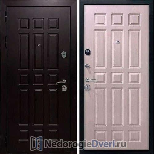 Входная дверь Rex 8 Стандарт Белёный дуб