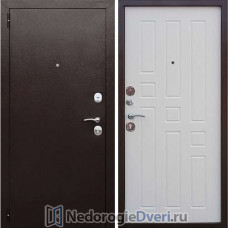 Входная металлическая дверь Стоп GRD 8 Ясень белый