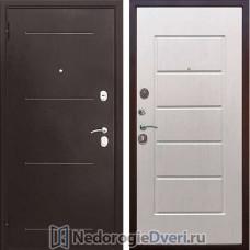 Входная металлическая дверь Стоп GRD 75 Ясень белый