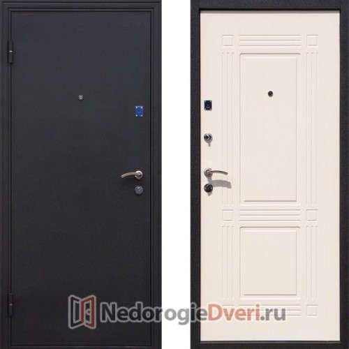 Входная металлическая дверь Геркон Ампир Белый Ясень