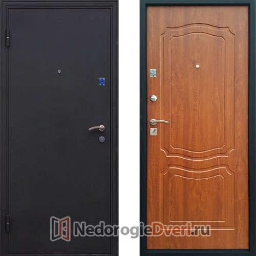 Входная металлическая дверь Геркон Классика Дуб Золотистый
