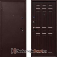 Входная металлическая дверь Стоп Стандарт Антик Венге