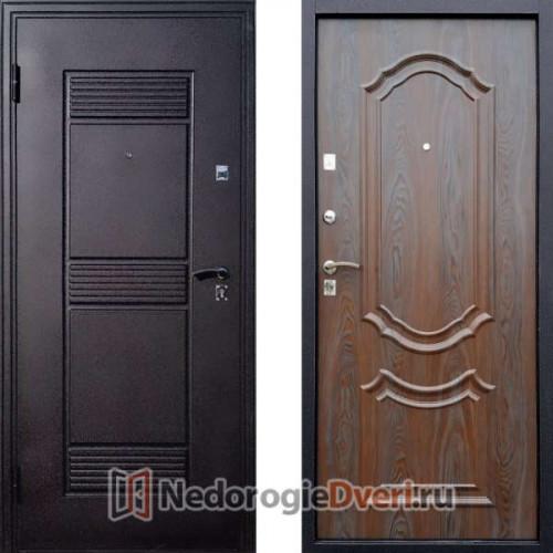 Входная дверь Стоп Эко Венеция Венге с патиной