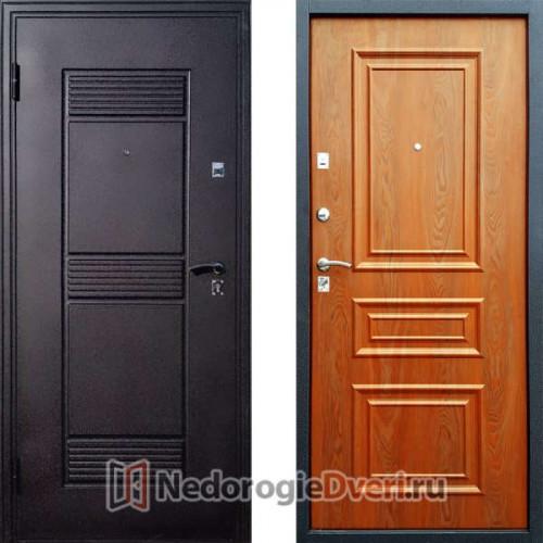 Входная дверь Стоп Эко Византия Золотистый Дуб