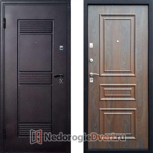 Входная металлическая дверь Стоп Эко Византия Венге с патиной