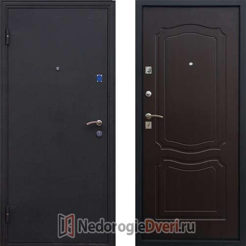 Входная металлическая дверь Стоп Классика Венге