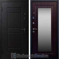 Входная дверь Стоп Зеркало Венге