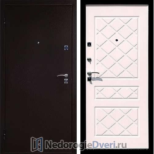 Входная дверь Стоп Эко Белёный дуб