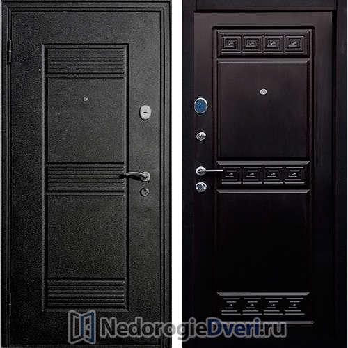 Входная дверь Стоп  Афина Венге ТРИ КОНТУРА УПЛОТНЕНИЯ