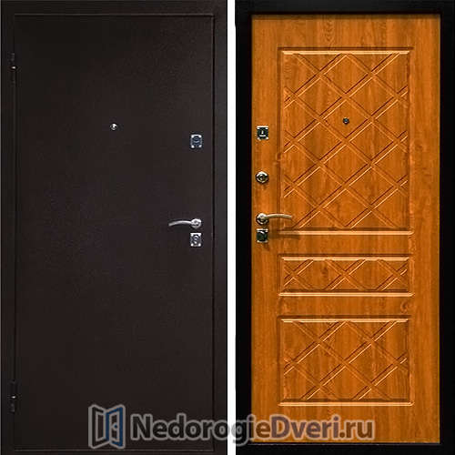 Входная дверь Стоп Эко Дуб Золотистый
