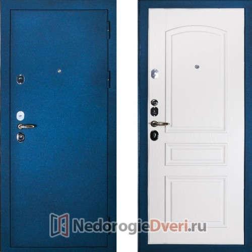 железные двери в химках синие