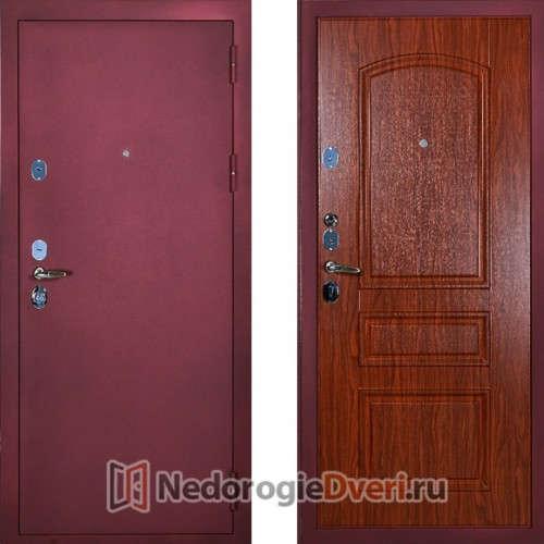 Входная металлическая  дверь Сударь 3 Брусника