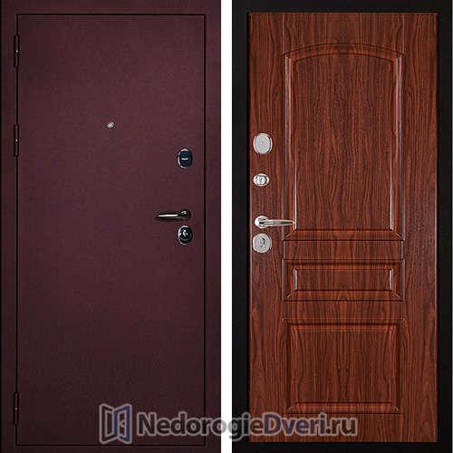 Входная дверь Сударь 3 Брусника CISA