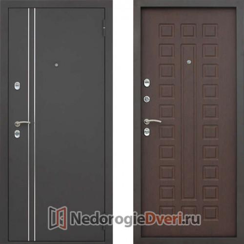 Входная металлическая дверь Геркон ТЕРМО орех