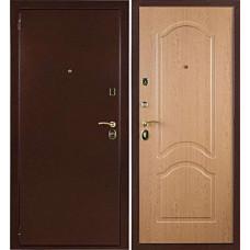 Входная металлическая дверь 3К Лайт Дуб Рон