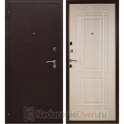 Входная дверь Триумф Беленый Дуб (Россия)
